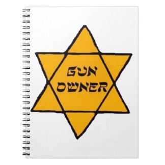 Cuaderno Dueño de arma