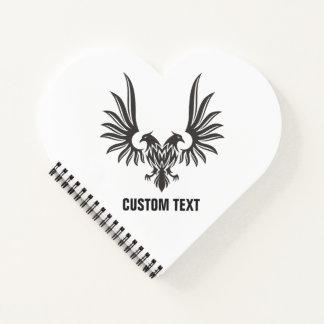 Cuaderno Eagle con dos cabezas