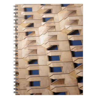 Cuaderno Edificio abstracto