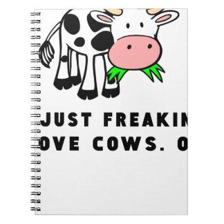Cuaderno El amor Freaking se acobarda muy bien