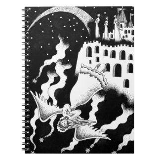 Cuaderno El caer del ángel
