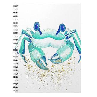 Cuaderno El cangrejo de Neptuno