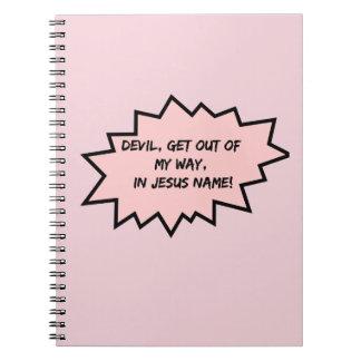 Cuaderno ¡El diablo, sale de mi manera!