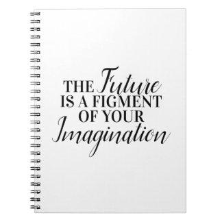 Cuaderno El futuro es una ficción de su imaginación
