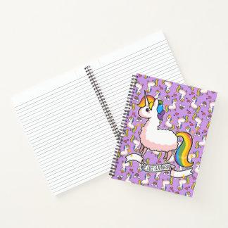 Cuaderno El Llamacorn majestuoso