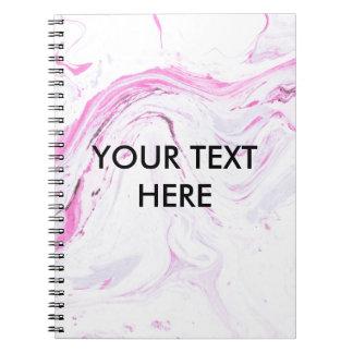 Cuaderno el mármol de la fresa me modifica para requisitos