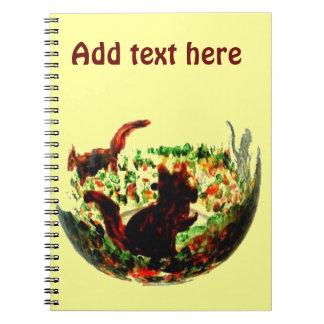 Cuaderno El otoño atesora el arte animal
