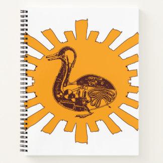 Cuaderno El pato de Vaucanson