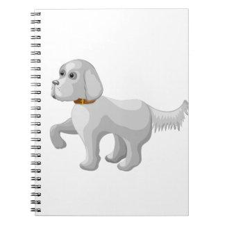 Cuaderno El perro da la pata