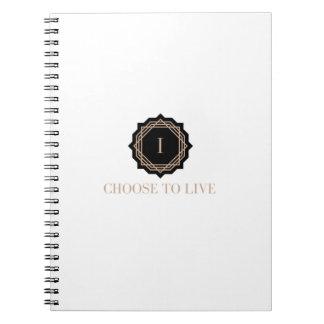 Cuaderno Elijo vivir diario