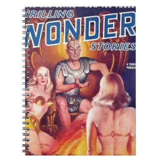 Cuaderno Emperador del espacio con sus Concubines