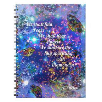 Cuaderno Encontraremos paz y oiremos los ángeles