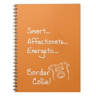 Cuaderno Energetic Border Collie