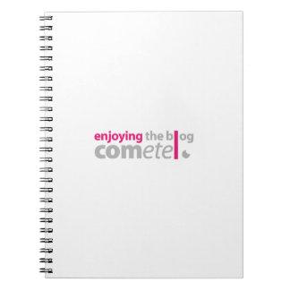 Cuaderno Enjoying the blog Cómete el punto
