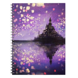 cuaderno enredado del castillo de la película (80