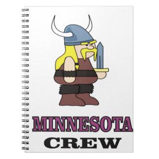 Cuaderno Equipo de Minnesota