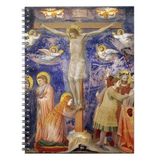 Cuaderno Escena medieval del Viernes Santo