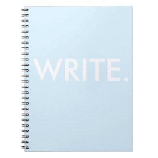 Cuaderno Escriba
