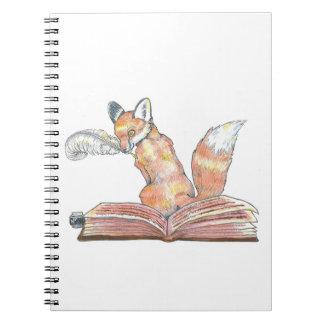 Cuaderno Escribano del Fox