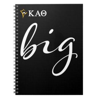 Cuaderno Escritura grande alfa de la theta el | de Kappa