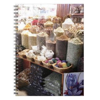 Cuaderno Especia Souk Dubai