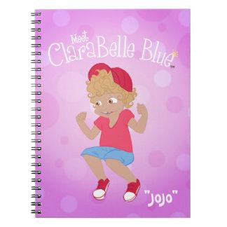 """Cuaderno espiral azul de ClaraBelle - """"JoJo """""""