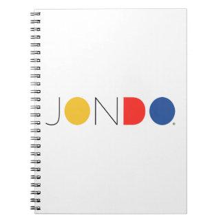Cuaderno espiral de JONDO