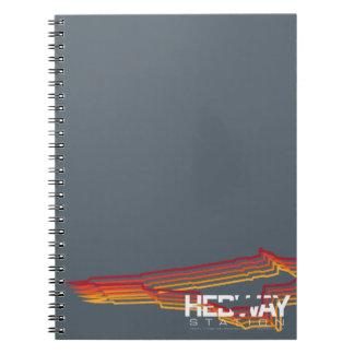 Cuaderno espiral de la estación de HEDWAY