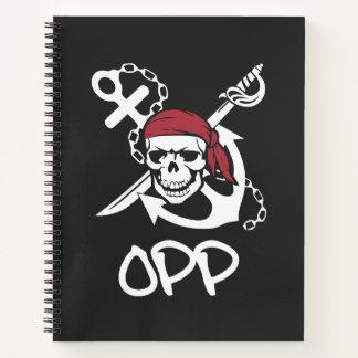 Cuaderno espiral de OPP el  