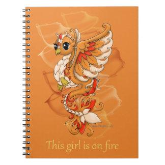 Cuaderno espiral de Phoenix
