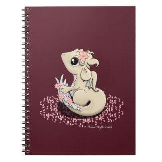 Cuaderno espiral del dragón de Sakura
