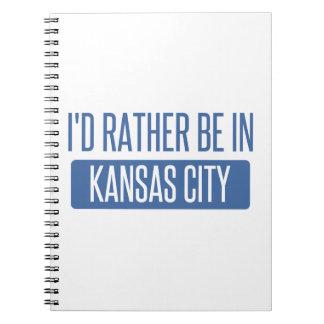 Cuaderno Estaría bastante en Kansas City MES