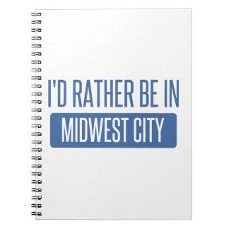 Cuaderno Estaría bastante en la ciudad de Cercano oeste