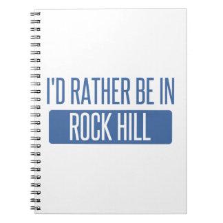 Cuaderno Estaría bastante en la isla de la roca