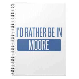 Cuaderno Estaría bastante en Moore