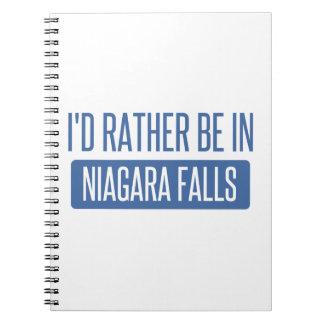 Cuaderno Estaría bastante en Niagara Falls