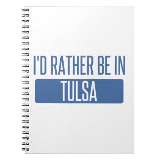 Cuaderno Estaría bastante en Tulsa