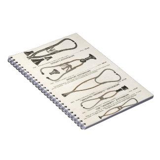 Cuaderno Estetoscopios