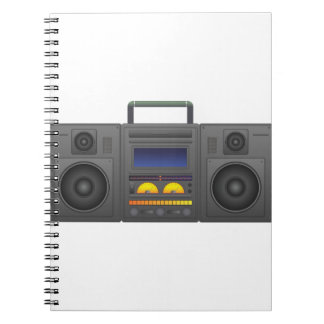 Cuaderno estilo Boombox de Hip Hop de los años 80