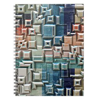 Cuaderno estructura metálica 3D
