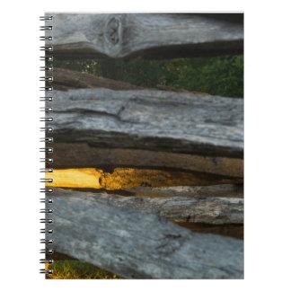 Cuaderno Extracto del carril partido