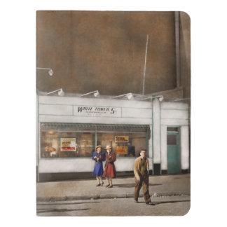 Cuaderno Extragrande Moleskine Ciudad - Amsterdam NY - hamburguesas 5 centavos