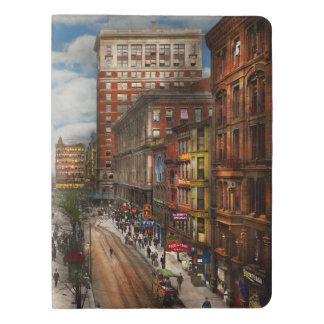 Cuaderno Extragrande Moleskine Ciudad Cincinnati OH - fuente 1907 de Tyler