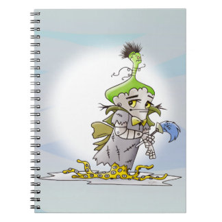 Cuaderno EXTRANJERO de la foto de la MANTEQUILLA