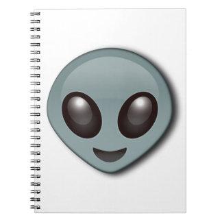 Cuaderno Extranjero observado insecto