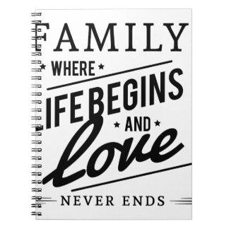 Cuaderno familia