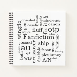 Cuaderno Fanfiction