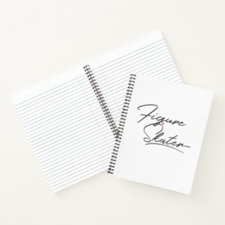 Cuaderno Figura patinador