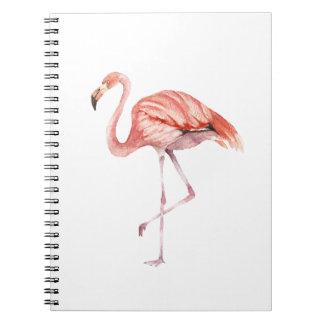 Cuaderno Flamenco rosado