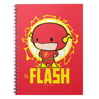 Cuaderno Flash de Chibi con electricidad